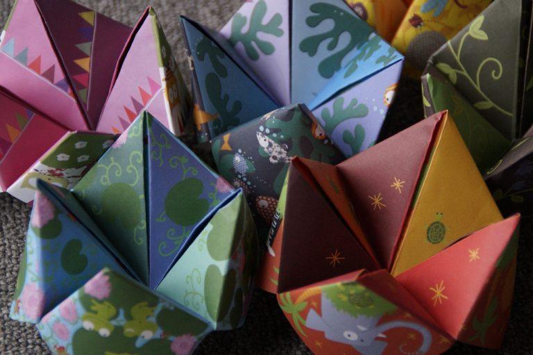 Origami, l'arte di piegare la carta