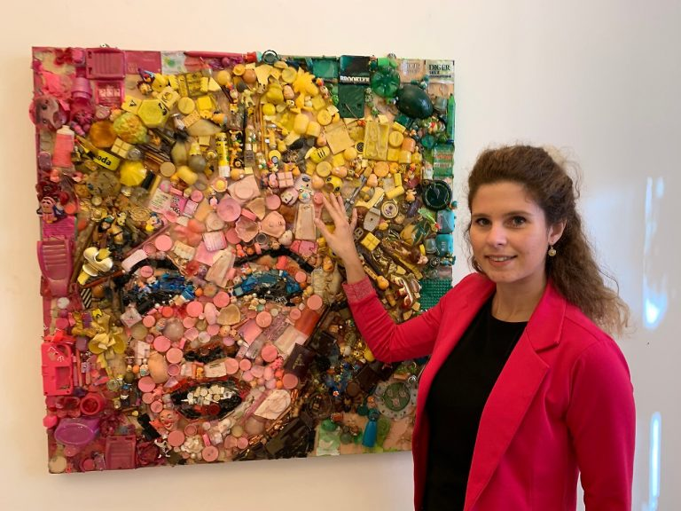 Intervista a Lady Be, l'artista del mosaico contemporaneo