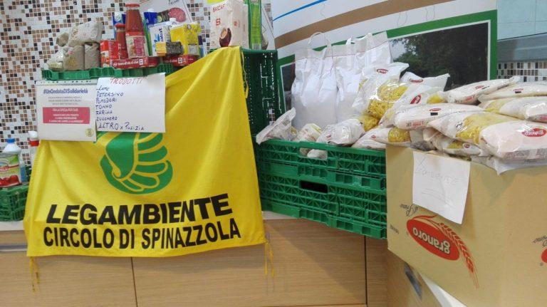 Spesa solidale a Spinazzola, Barletta e Taranto