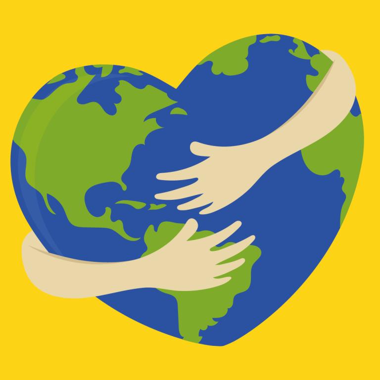 #Abbracciamola, la Terra ha bisogno di noi. Anche ora