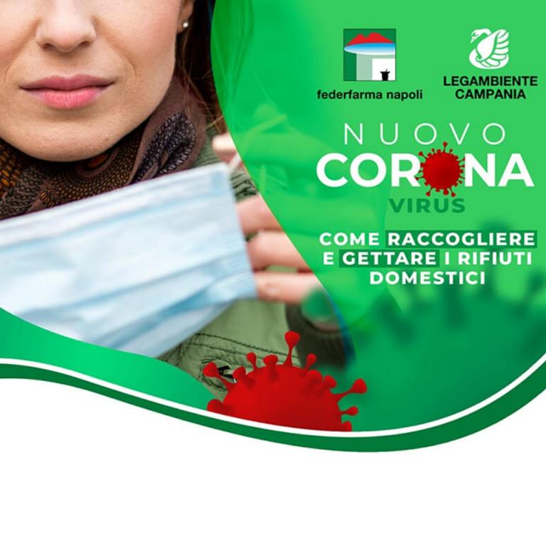 Come smaltire mascherine e guanti, la campagna in farmacia e sui social