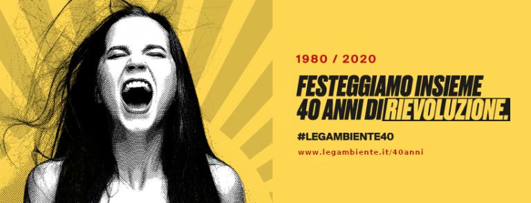 1980-2020 Legambiente compie 40 anni: un libro e due webinar per raccontare le sue conquiste