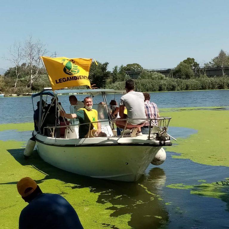 Sponz acQuà, Legambiente alla foce del fiume Sele con Vinicio Capossela