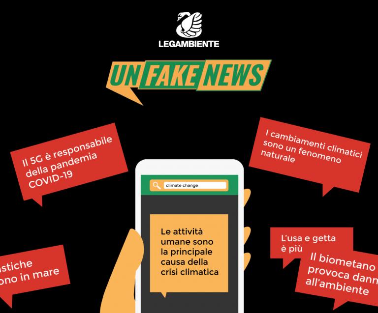 Unfakenews: la campagna che spazza via le bufale ambientali